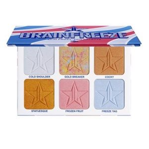 Jeffree Star Brain Freeze Highlight Palette!